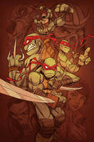 Turtle Power by jeffagala
