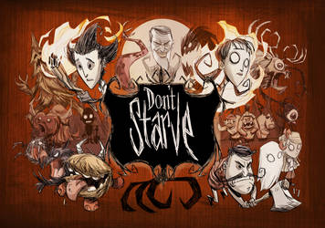 Don't Starve PS4 art by jeffagala