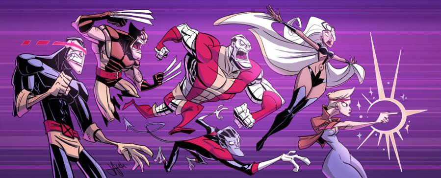 X-Men Arcade Re-do by jeffagala