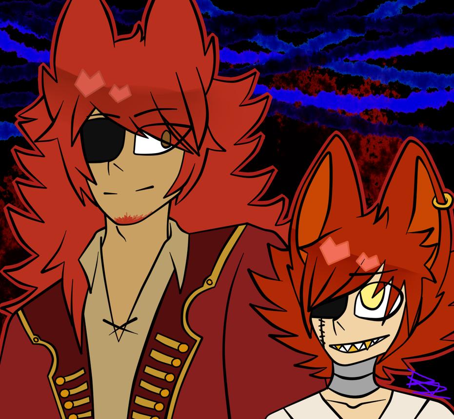 Double Foxys by ninjataz