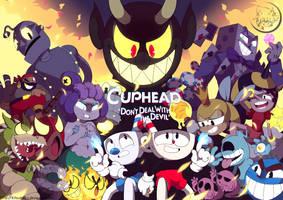 Cuphead Fanart by Kitsumarii
