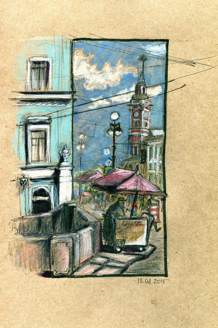 Nevsky Prospect by OlwenArt