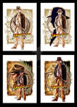 Indy DVD box set covers