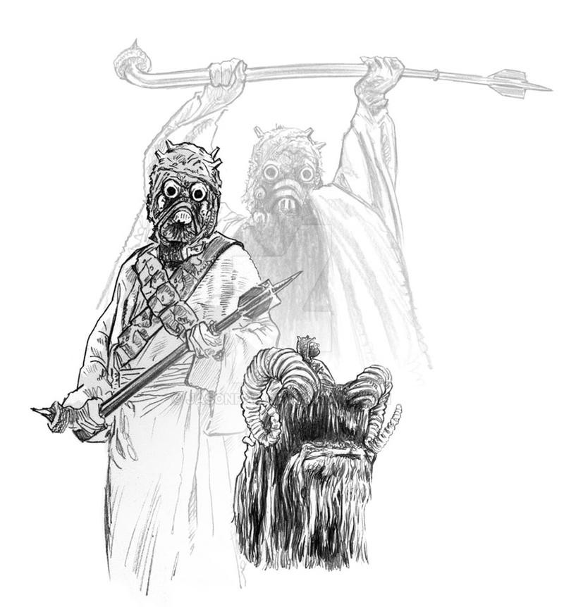 Tuskin Raiders by jasonpal
