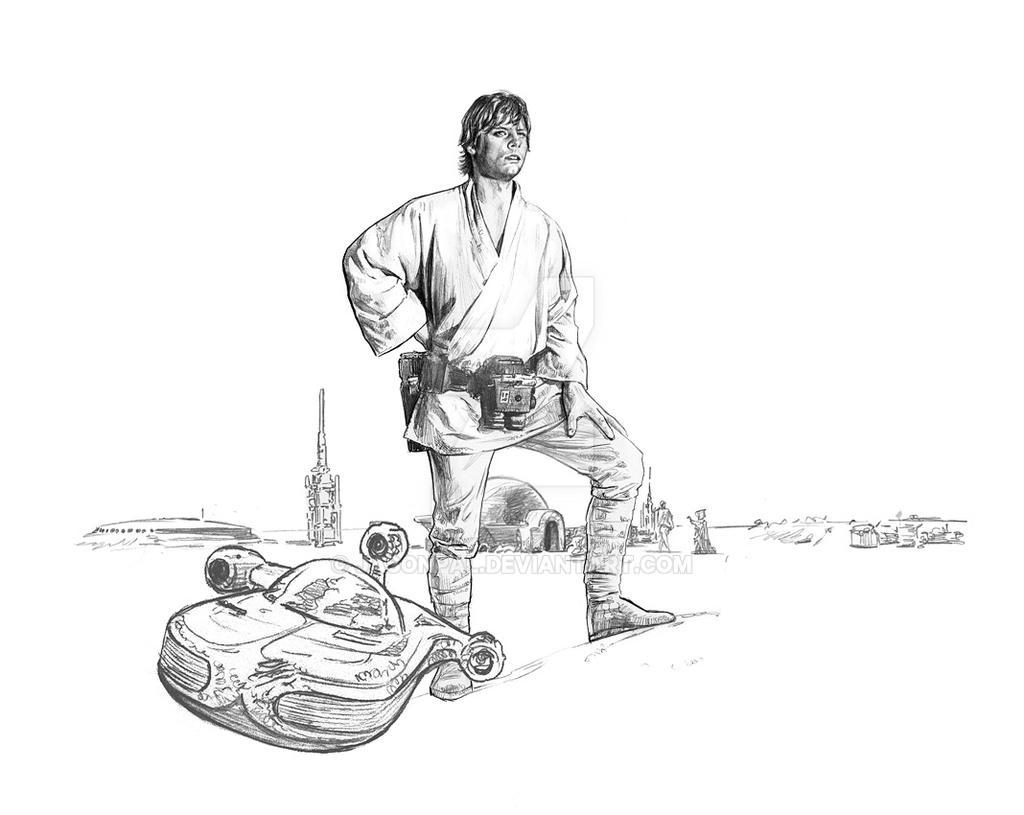Luke on the farm by jasonpal