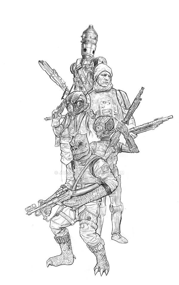 Bounty Hunters by jasonpal