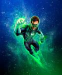 Green Lantern RR art