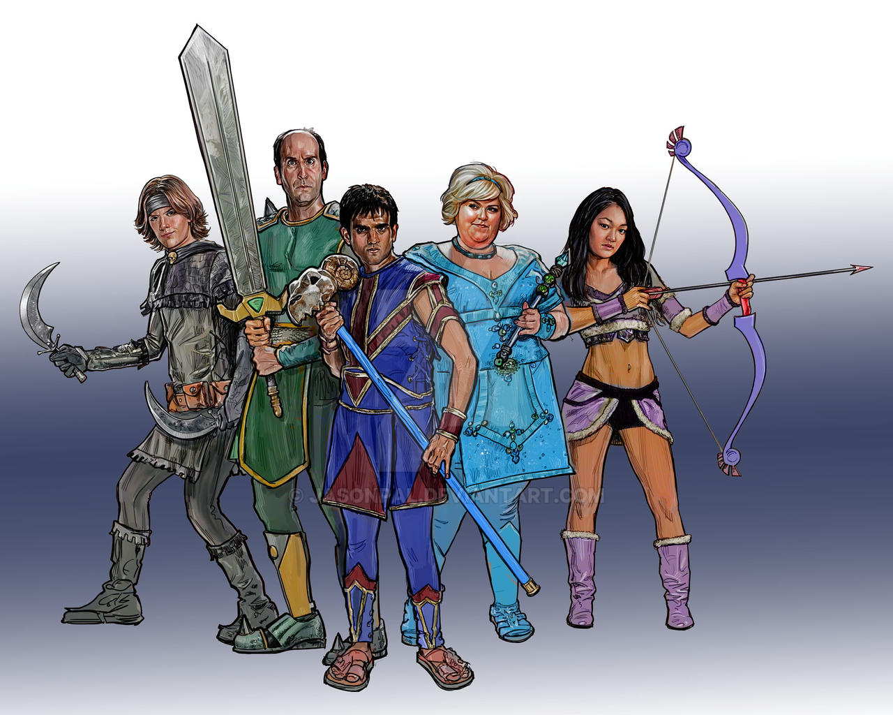 Guild cast by jasonpal