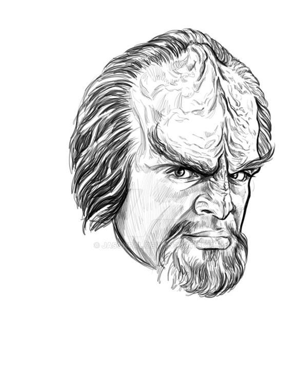 Worf by jasonpal