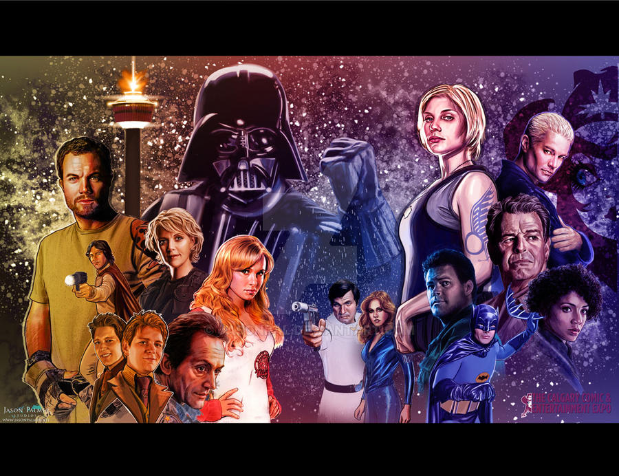 Calgary Expo print 2012 by jasonpal