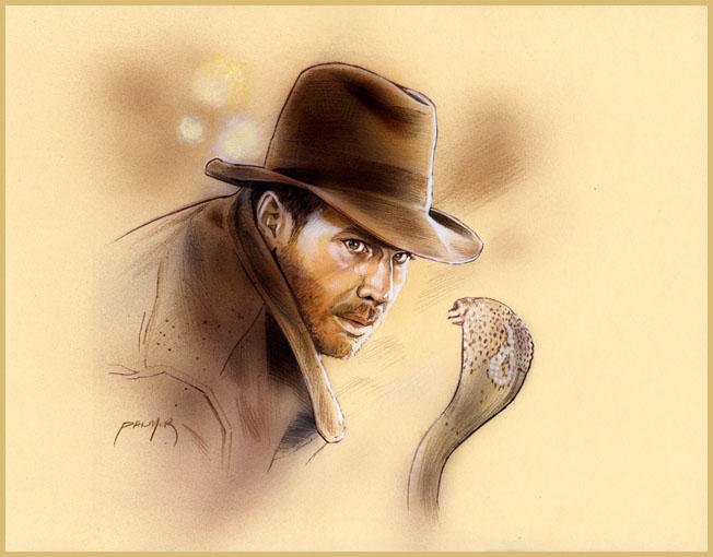 Indy and Cobra by jasonpal