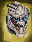 GARRUS SPEED PAINT