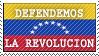 Revolucion Bolivariana - stamp by KPOCTA