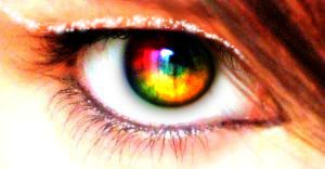 Colorful Eye by BlackKisuX