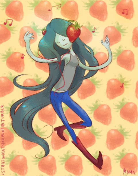 marceline, strawberry queen by mayakern