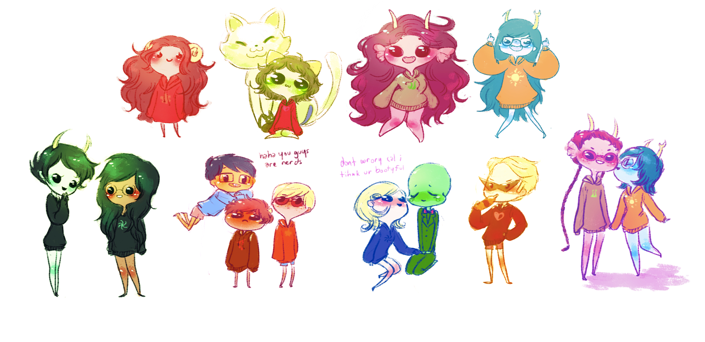mspa: tiny homestucks by mayakern