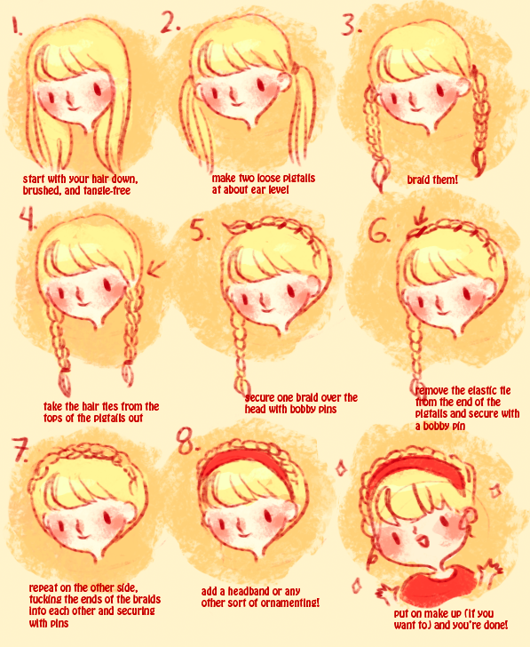 headband braid tutorial by mayakern