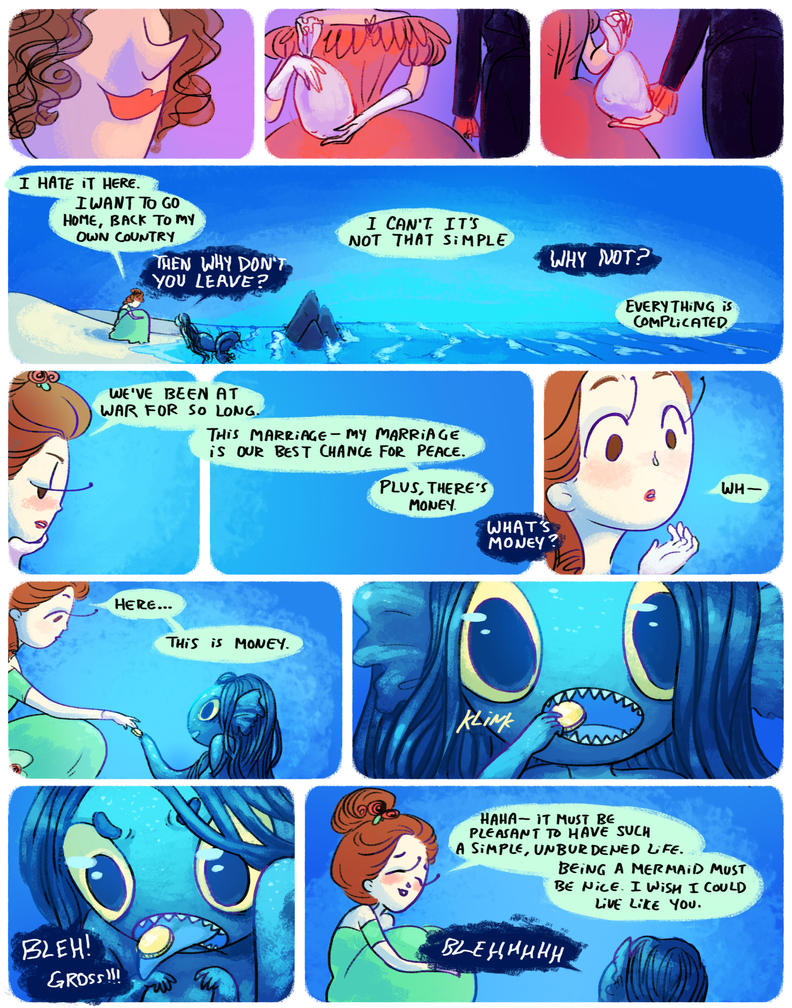 how to be a mermaid 9 by mayakern on DeviantArt