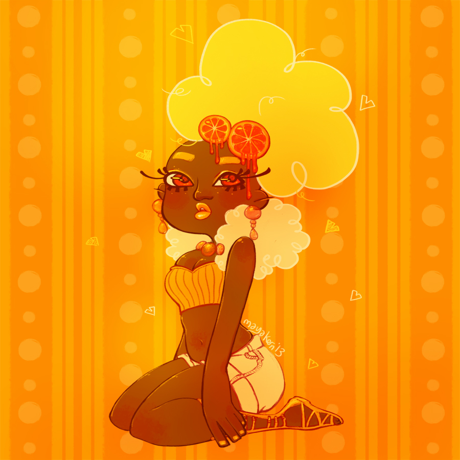 orange by mayakern
