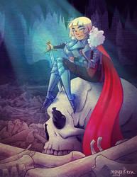 lady knight by mayakern