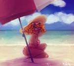 medusa at the beach