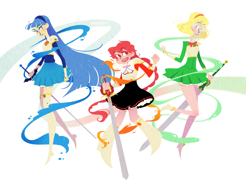 magic knight rayearth! by mayakern