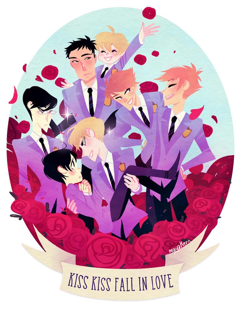 kiss kiss fall in love! by mayakern