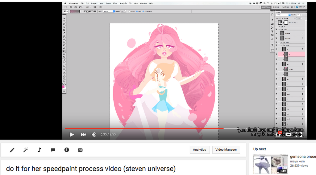 do it for her process video by mayakern