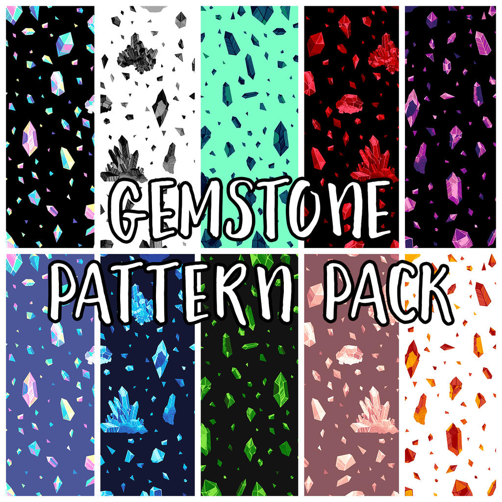 gemstone pattern pack by mayakern