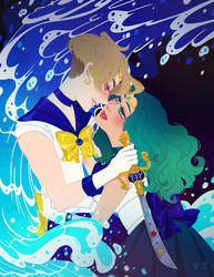 sea and sword by mayakern