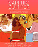 sapphic summer preorders open! by mayakern