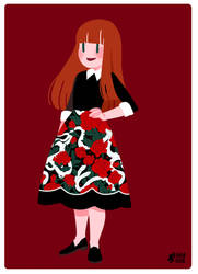 hiss from a rose (dark) skirt by mayakern