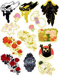 pin sketches by mayakern