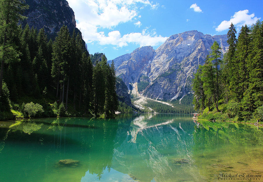 Mountain Lake by e2micha