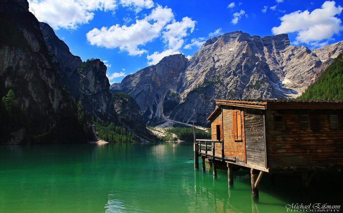 Mountain Lake II by e2micha