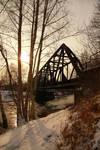 Bridges at river