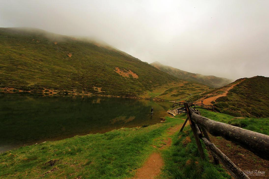 misty Lake by e2micha