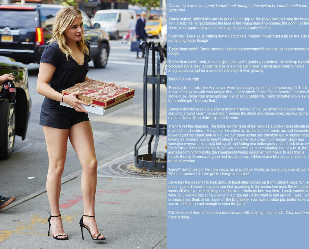 ... Chloe and the pizza (TG) by Ziboetes
