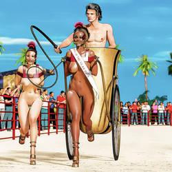 Ponygirls presentation race by Arctoss