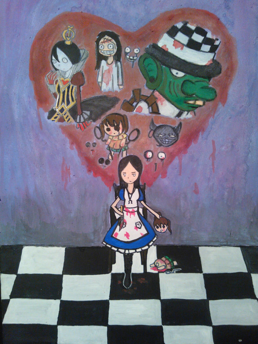 American Mcgee's Alice by darkcreamz95