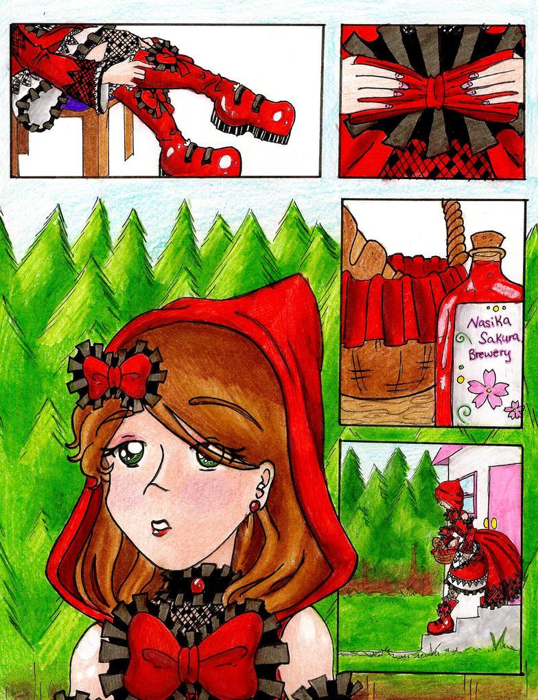 NS_ Little Red pg1 by NasikaSakura