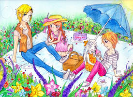 Amy's B-Day Picnic by NasikaSakura