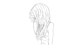 Infatuated Glance_ animated sketch by NasikaSakura
