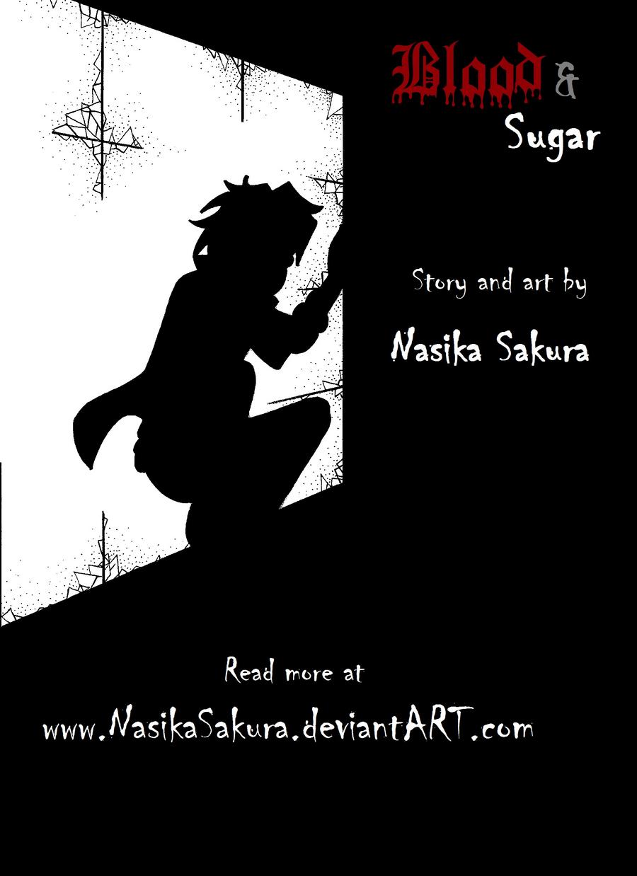 Blood and Sugar pg2 _title page by NasikaSakura