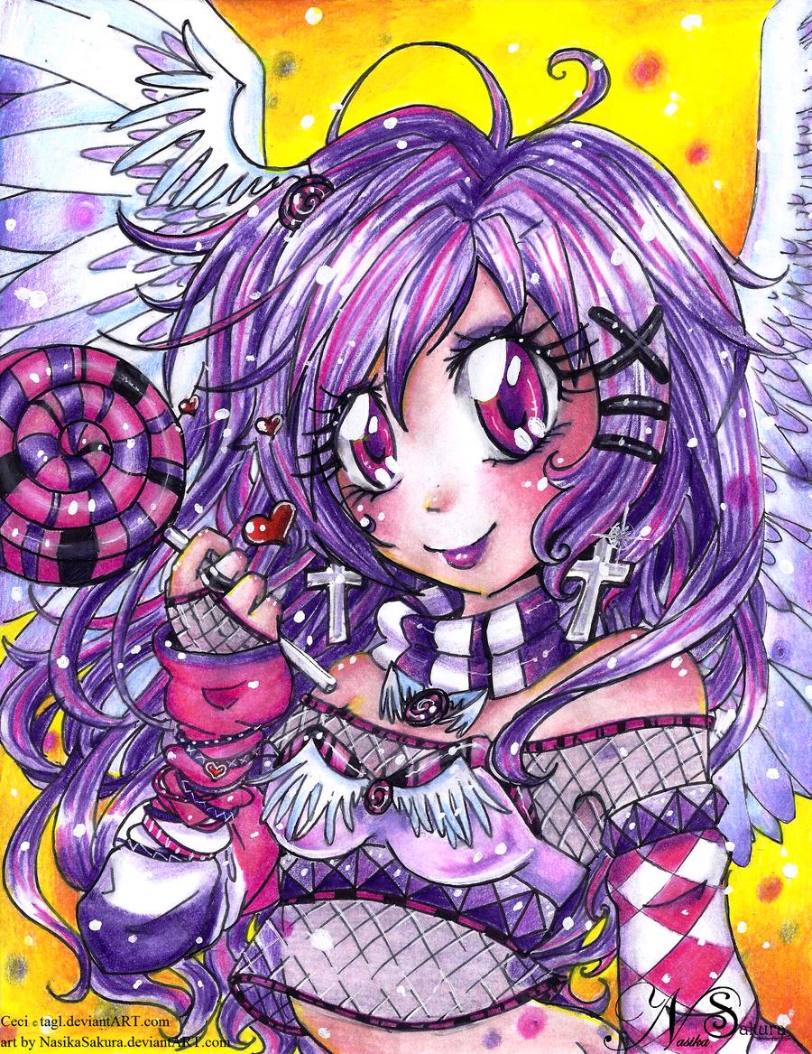 Angelic Lolipop Princess Ceci by NasikaSakura