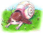 Snail Time Omnomnom