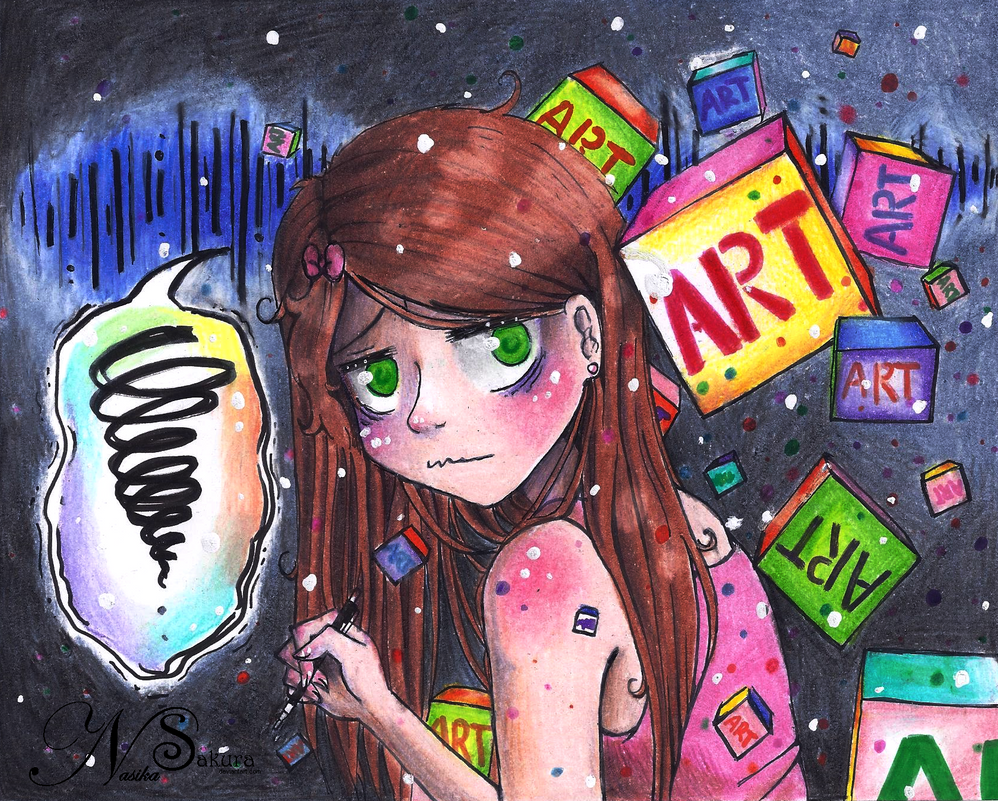 Art Block by NasikaSakura