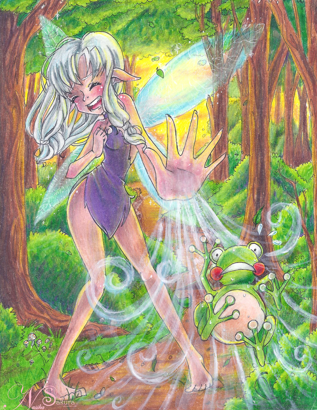 Sylph Hates Frogs by NasikaSakura