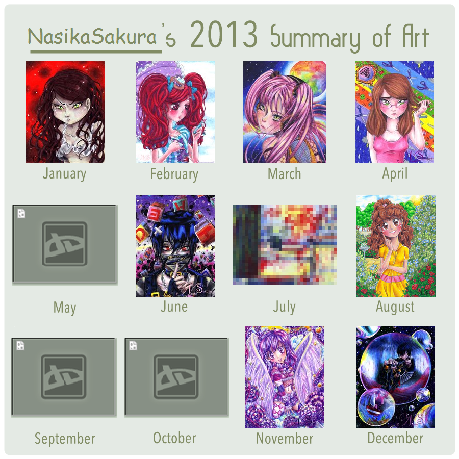 NS_ 2013 Art Summary by NasikaSakura