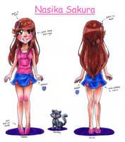 Nasika reference sheet by NasikaSakura
